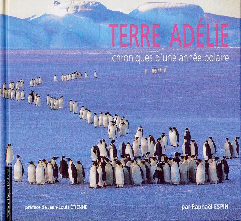 couverture livre terre adélie